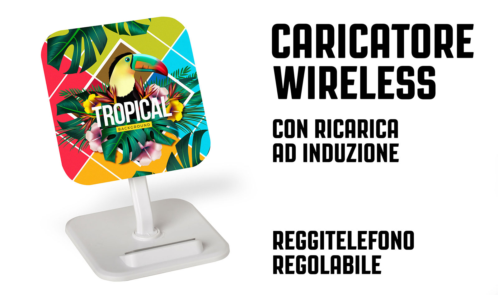 Caricatore wireless scrivania