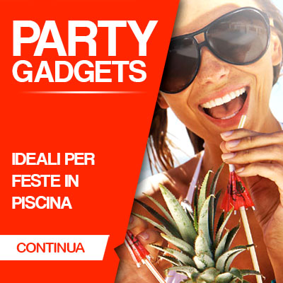GADGETS PER FESTE E PARTY IN PISCINA