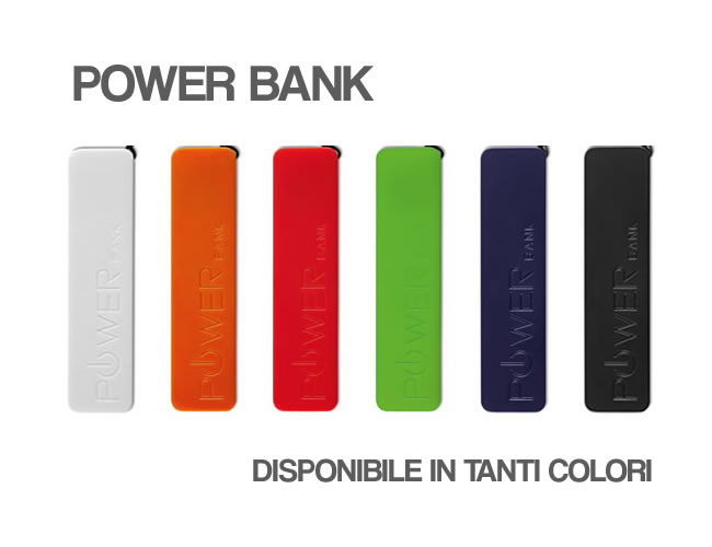 gadget regalo power bank LOGO