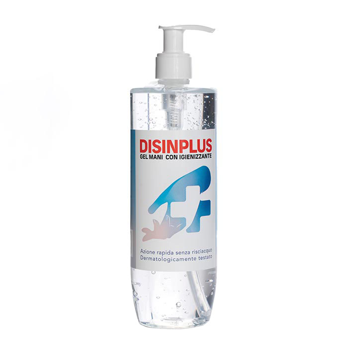 Gel mani igienizzante da 500 ml, made in Italy. Contiene il 65% di alcool.