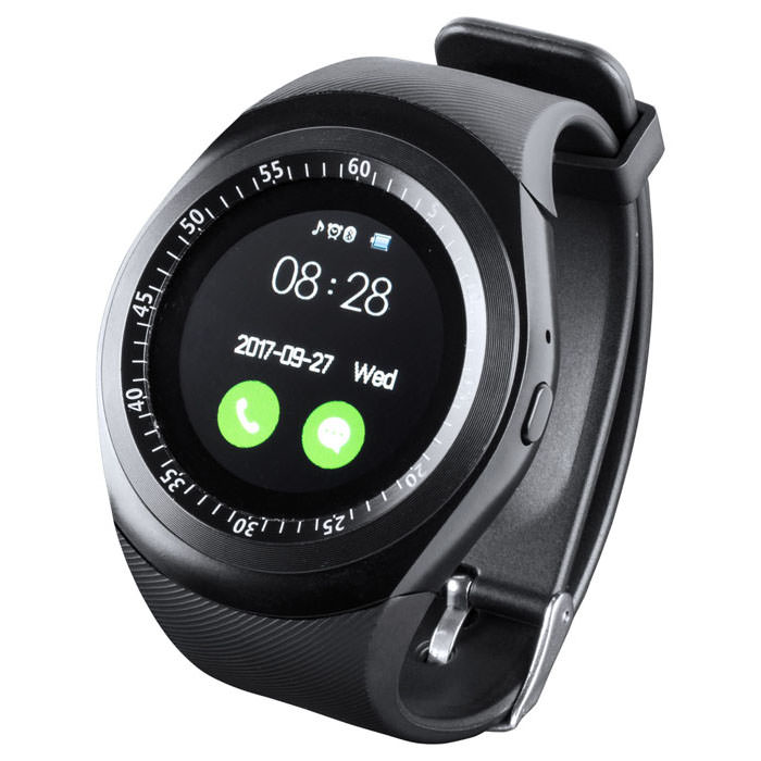 Orologio bluetooth smart multilingue con schermo LCD da 1,22