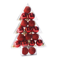 Set 17 sfere decorative per albero, lucide e opach ...