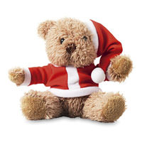 ,peluches,orso,natale,orso bianco,peluches orso,natale,