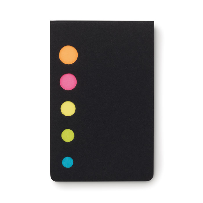 Sticky a libretto con  notes in 5 colori.