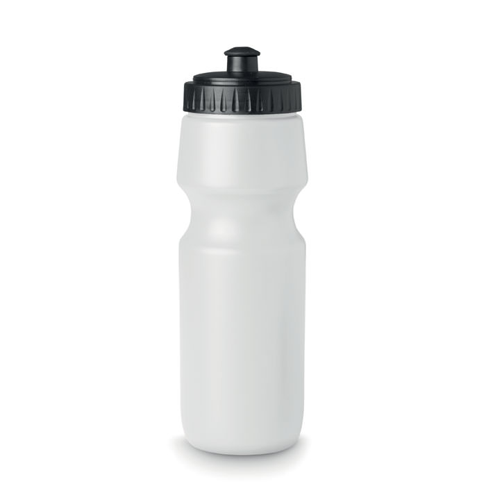 Borraccia sportiva da 700 ml. In plastica coprente.