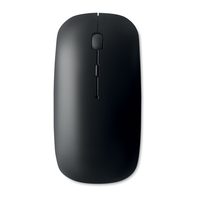Mouse senza fili in ABS brillante . 2 pile AAA non incluse.