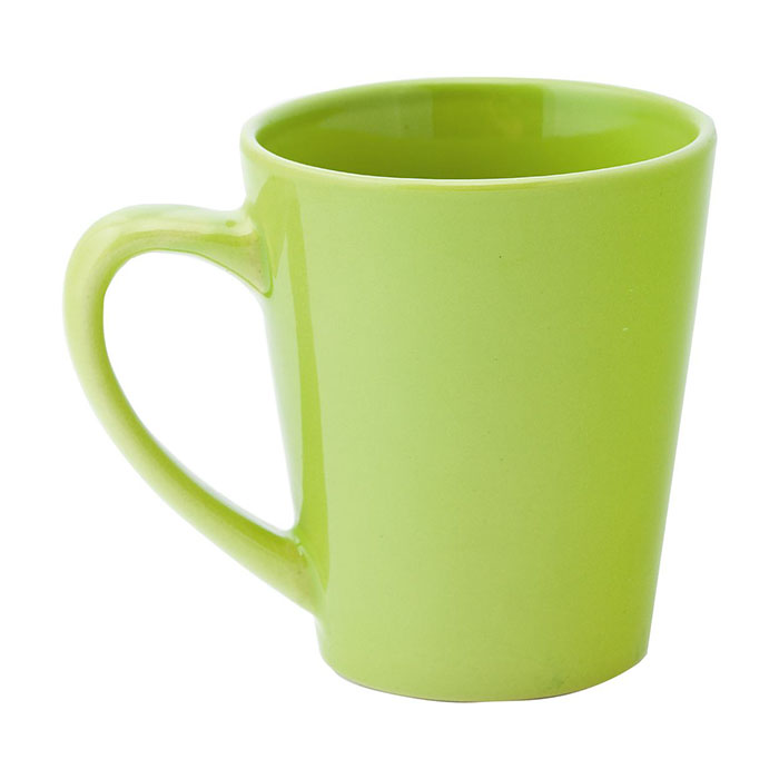 Tazza in ceramica colorata, 350 ml. In scatola regalo.