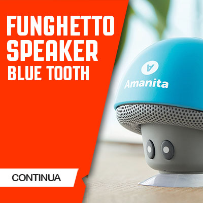 FUNGHETTO SPEAKER BLUETOOTH