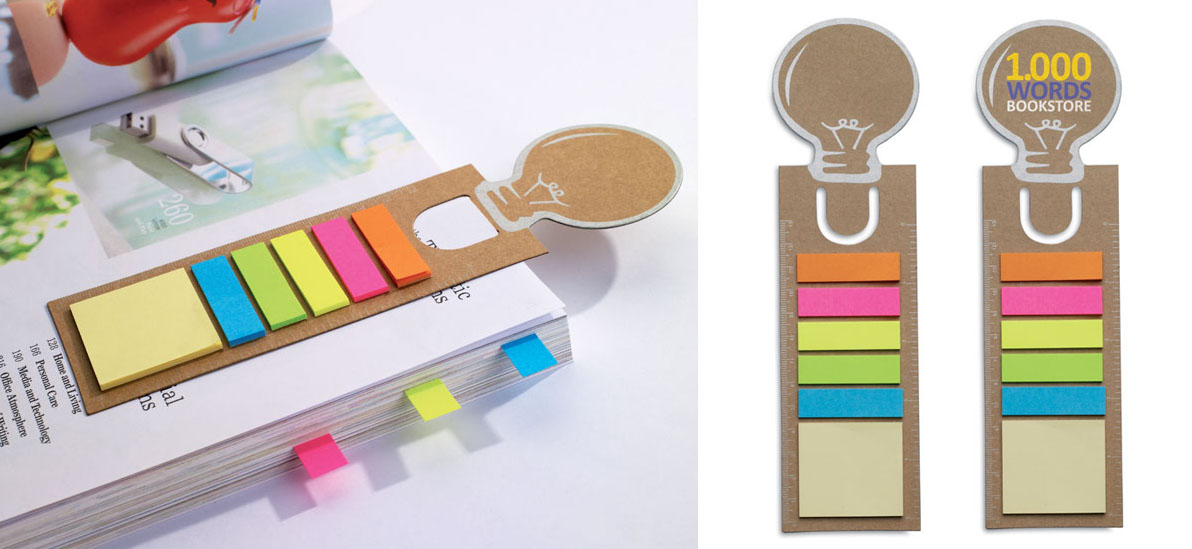 POST_IT REGALO GADGETS PERSONALIZZABILE LOGO